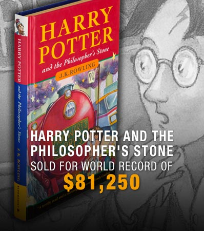 Harry Potter First Edition Sets World Records