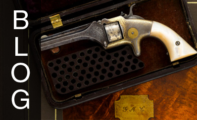 George Armstrong Custer: A Marvelous Inscribed .22 Revolver Presented to Custer by the United States Volunteers in 1863