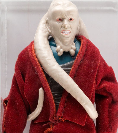 Star Wars - Bib Fortuna (Red Cape) Loose Action Figure /TW Prototype (Kenner, 1983) Condition: AFA 85 NM+