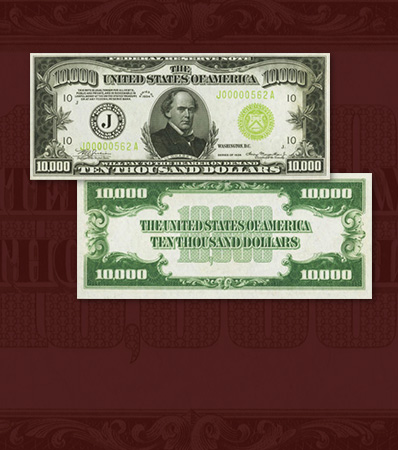 Fr. 2231-J $10,000 1934 Federal Reserve Note. PMG Gem Uncirculated 66 EPQ