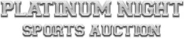 February 24 - 25 Platinum Night Sports Collectibles Sports - Dallas #50001