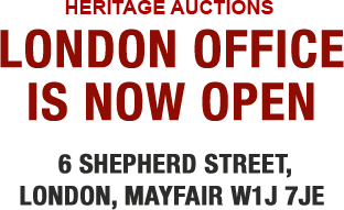 Heritage Auctions London Office Now Open