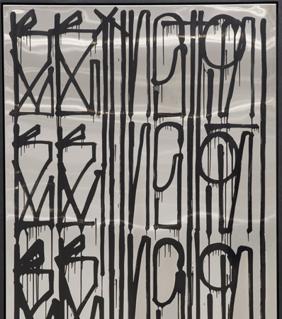 RETNA Untitled, diptych,