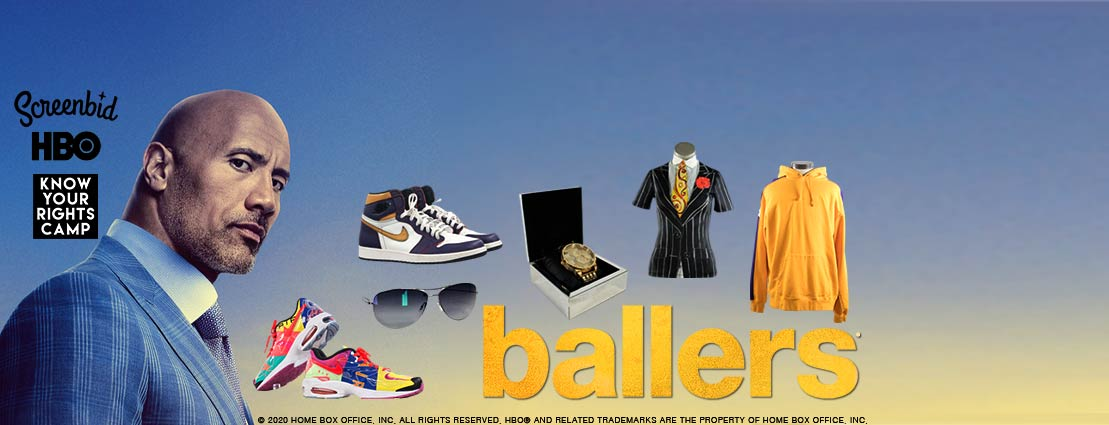 November 12 HBO's BALLERS, an exclusive auction of props & costumes, presented by ScreenBid and Heritage Auctions #41153