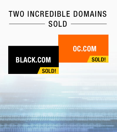 Two amazing domains sold