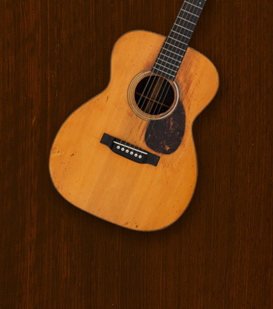 1929 Martin OM-28 Natural Acoustic Guitar