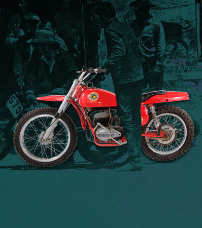 Vintage Bultaco Pursang 250 MKII Motorcycle Ridden by Peter Fonda in Easy Rider