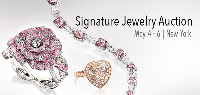 2015 May 4 - 6 Jewelry Signature Auction - New York #5208