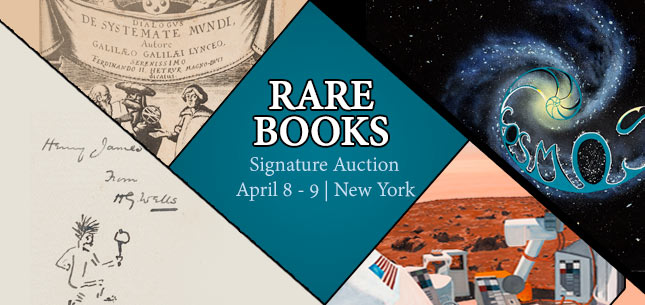 2015 April 8 - 9 Rare Books Signature Auction - New York #6117