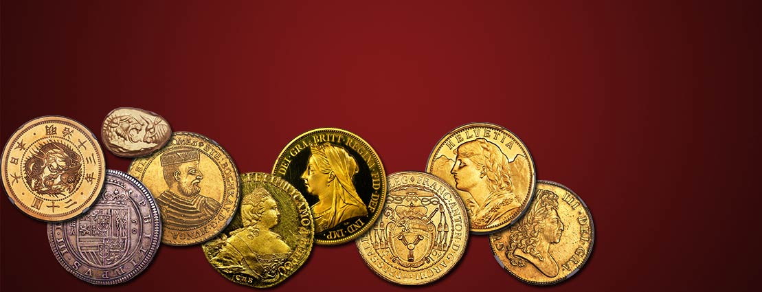 Featured Coins for the Upcoming World & Ancient Coins Auction in Chicago