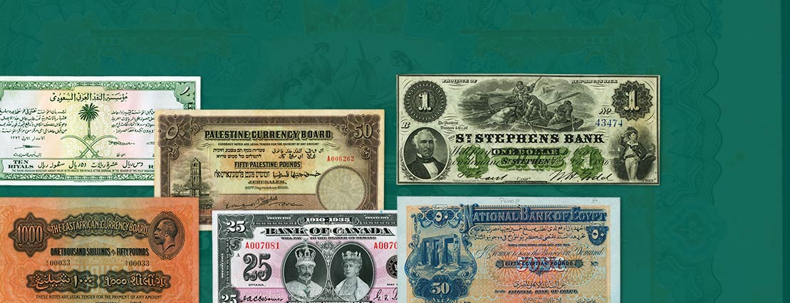 Featured World Currency
