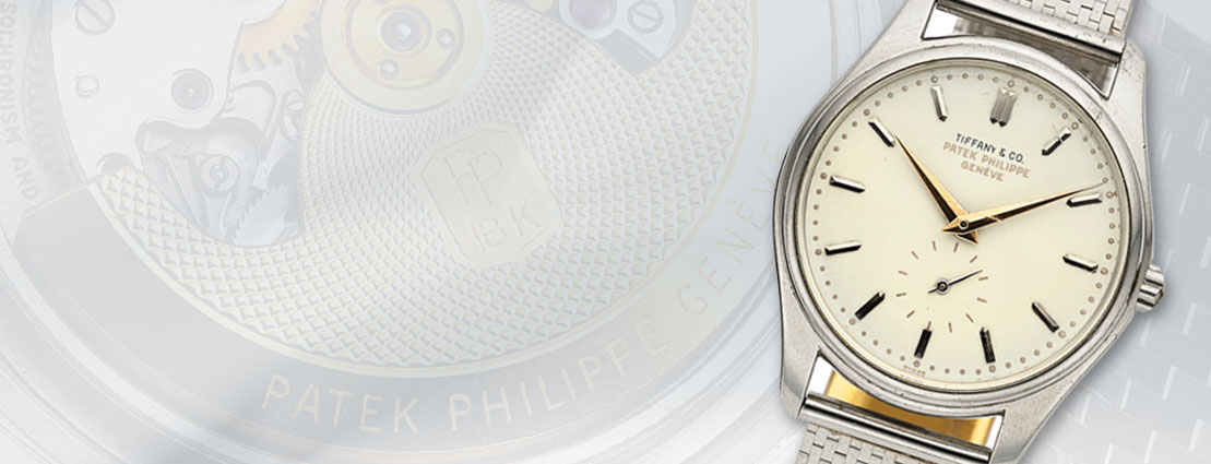 Patek Philippe, Ref. 2526P, Highly Important And Rare Calatrava with First Series Enamel Dial, Retailed by