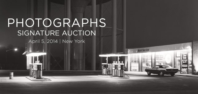 Photographs Signature Auctions - April 5, 2014 in New York