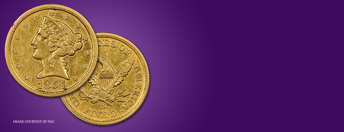 Heritage Chosen to Auction Newly Discovered 1854-S Half Eagle