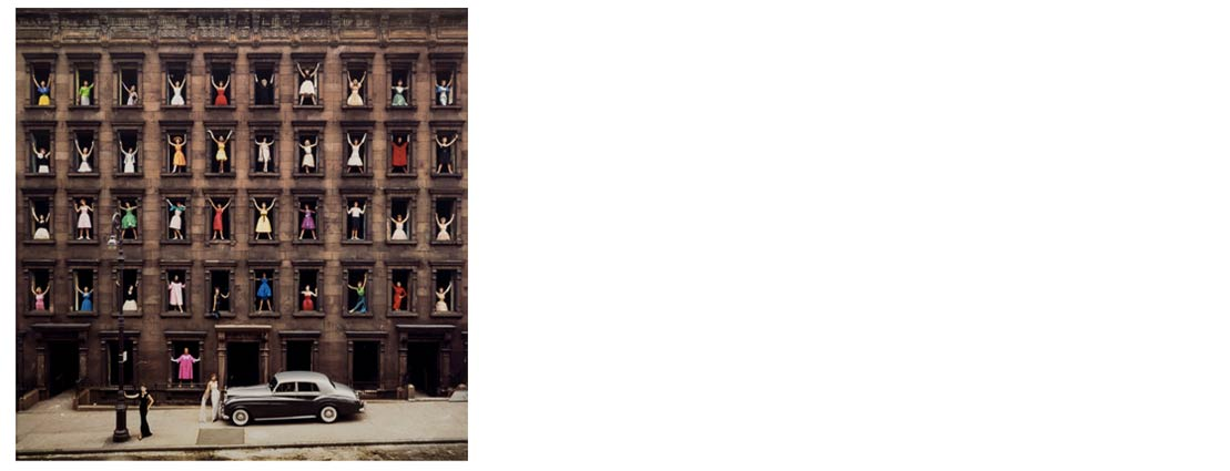 Ormond Gigli (American, b. 1925) Girls in the Windows, New York City , 1960