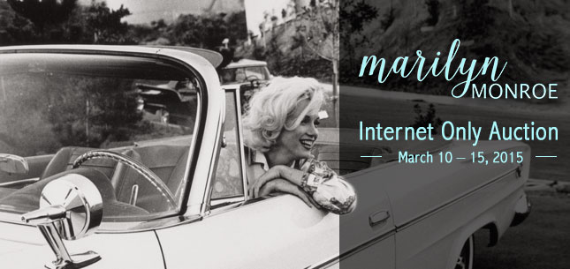 2015 March 10 - 15 Marilyn Monroe Photographs Photography Internet Auction - Dallas #261511