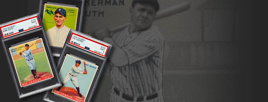 January 24 1933 Goudey PSA Set Registry Sports - Dallas #50009