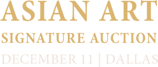 December 11 Asian Art Signature Auction - Beverly Hills #8016