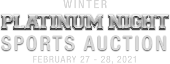 February 27 - 28 Winter Platinum Night Sports Catalog Auction - Dallas #50038