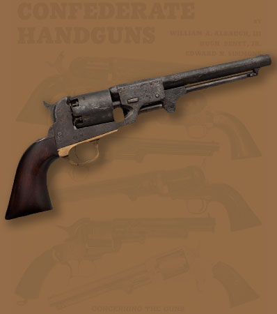 Rare J.H. Dance and Brothers Confederate Dragoon Single Action Revolver, Found at the Dance Factory in Columbia, Texas