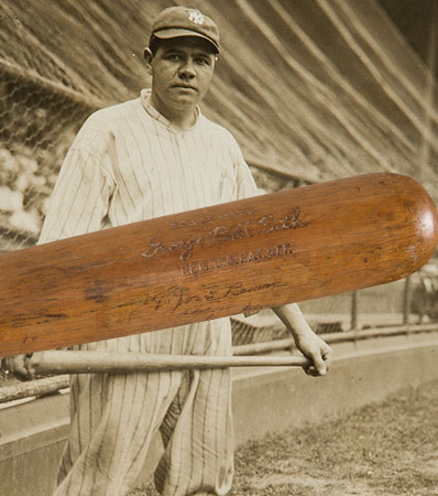 1927 Babe Ruth Game Used Record Sixtieth Home Run Bat