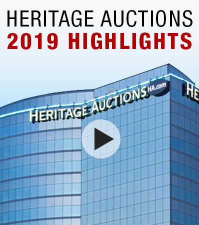 Heritage Auctions 2019 Highlights