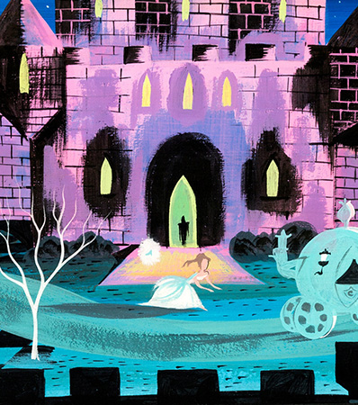 Mary Blair Cinderella Original Concept Painting