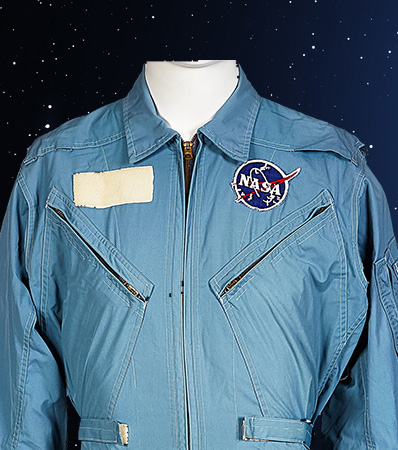 Neil Armstrong's Personally Owned and Worn Early Apollo-Era Flight Suit by Flite Wear with Type 3 NASA Vector Patch