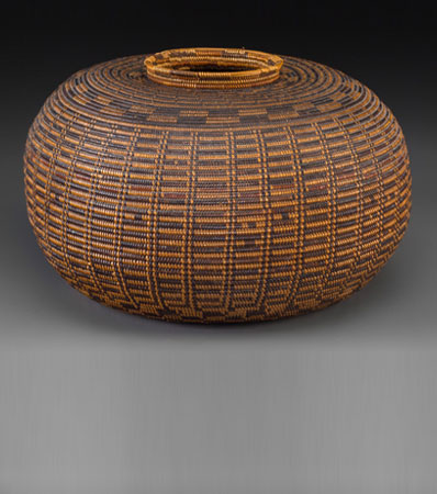 A Rare Chumash Coiled Jar c. probably 18th century
