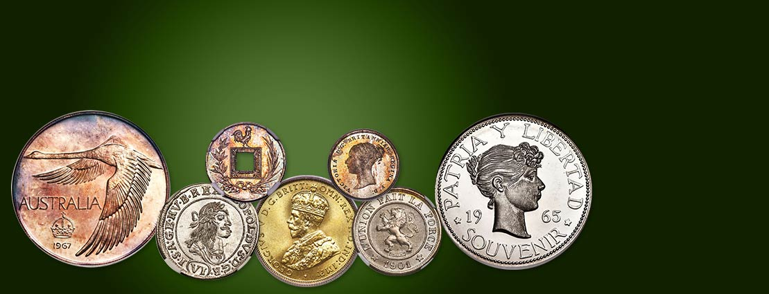 Featured Coins from the  September 30 The Feeling Good Collection, Part I World and Ancient Coin Auction #271839