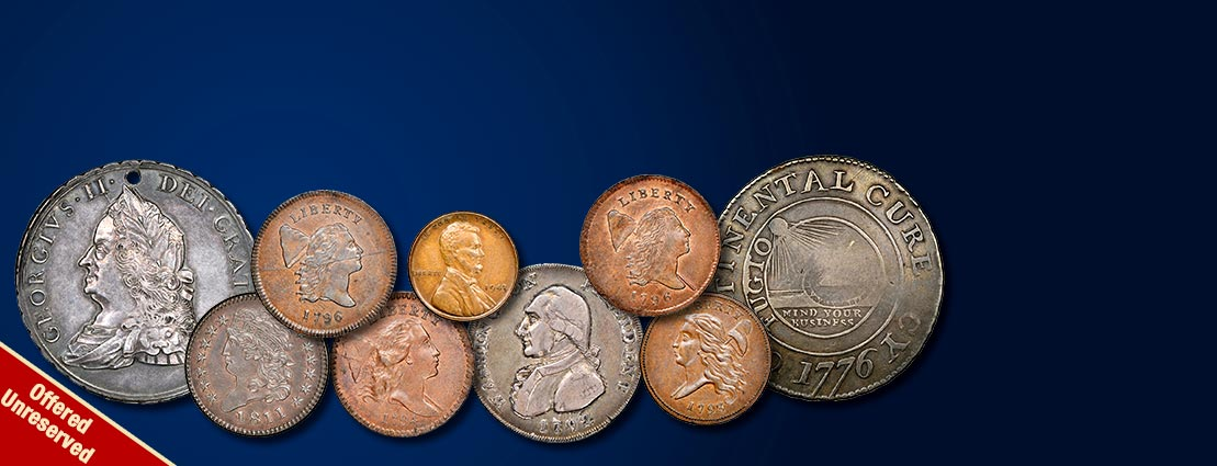Featured US Coins | Donald G. Partrick Collection