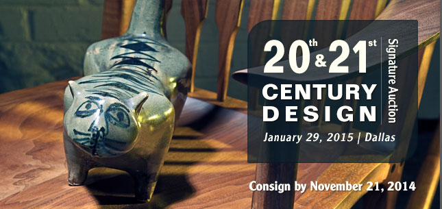 2015 January 29 20th Century Design Signature Auction - Dallas #5205