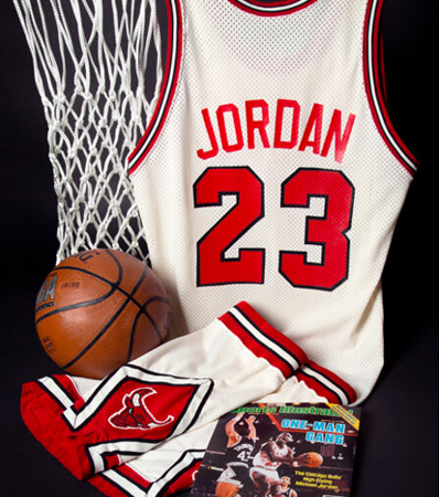 1986-87 Michael Jordan Game Worn Chicago Bulls Uniform