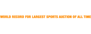 Thank you for your participation in the Fall Sports Collectibles Catalog Auction | Prices Realized: $22,053,675