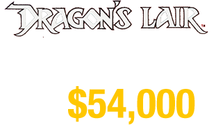 Dragon's Lair sold for $54,000