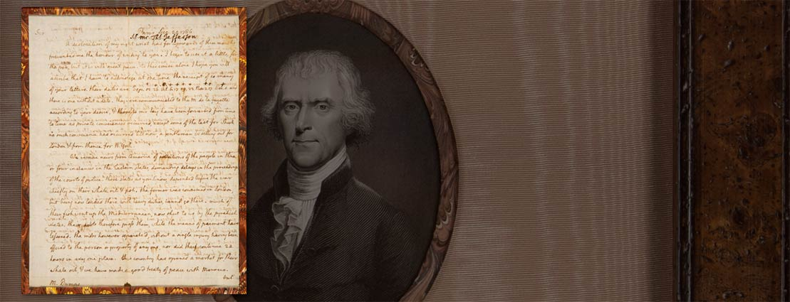 Jefferson writes about Shay's Rebellion, the national debt and foreign policy