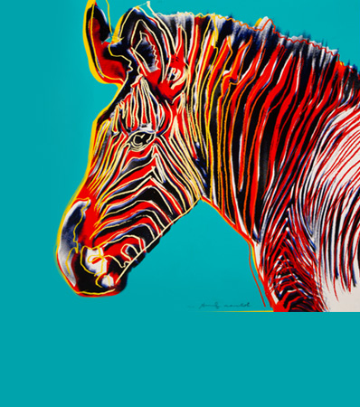 Andy Warhol (1928-1987), Grevy's Zebra, from Endangered Species, 1983