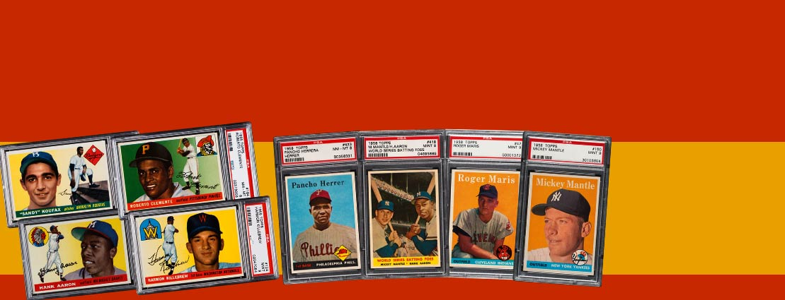 March 23 1950s PSA Set Registry Catalog Auction - Dallas #7205