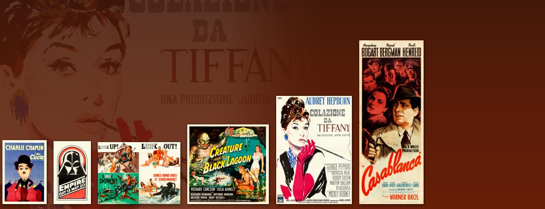 Breakfast at Tiffany's (Paramount, 1961) and other movie posters