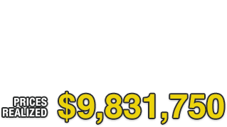 Thank you for your participation in Spring Sports Card Catalog Auction  | Total Price Realized: $9,831,750