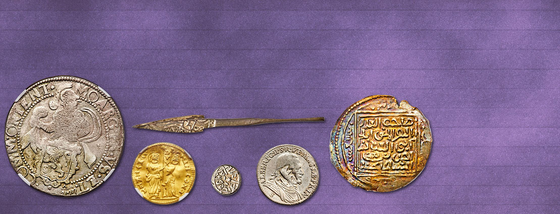 Featured Coins from the  October 7 The Dr. Hans Wilski Collection of Ottoman & Islamic Coins, Part I Monthly World and Ancient Coin Auction #271840
