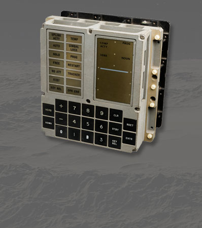 Apollo Guidance Computer: Original Display and Keyboard (DSKY) Unit, Signed by Harrison Schmitt