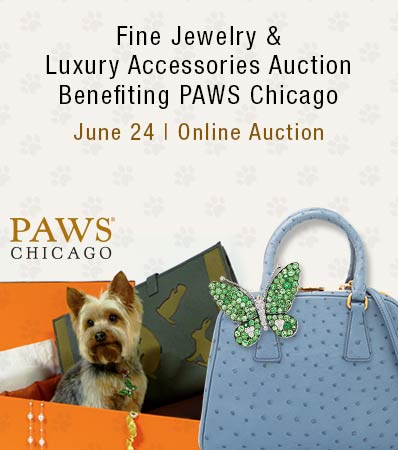 Fine Jewelry & Luxury Accessories Auction Benefiting PAWS Chicago