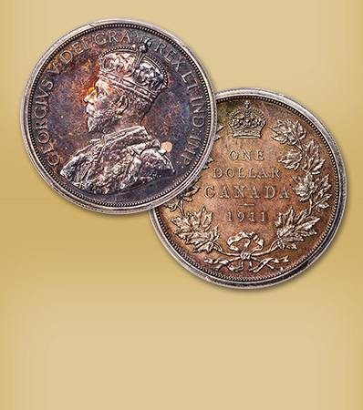 Extremely Rare 1911 Silver Dollar - One of Two Known and the Only in Private Hands