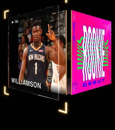 2020 Zion Williamson NBA Top Shot Rookie Debut (Series 1) - #1/192.
