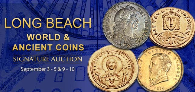 September 3 - 5 & 9 - 10 World & Ancient Coins Signature Auction - Long Beach 3035
