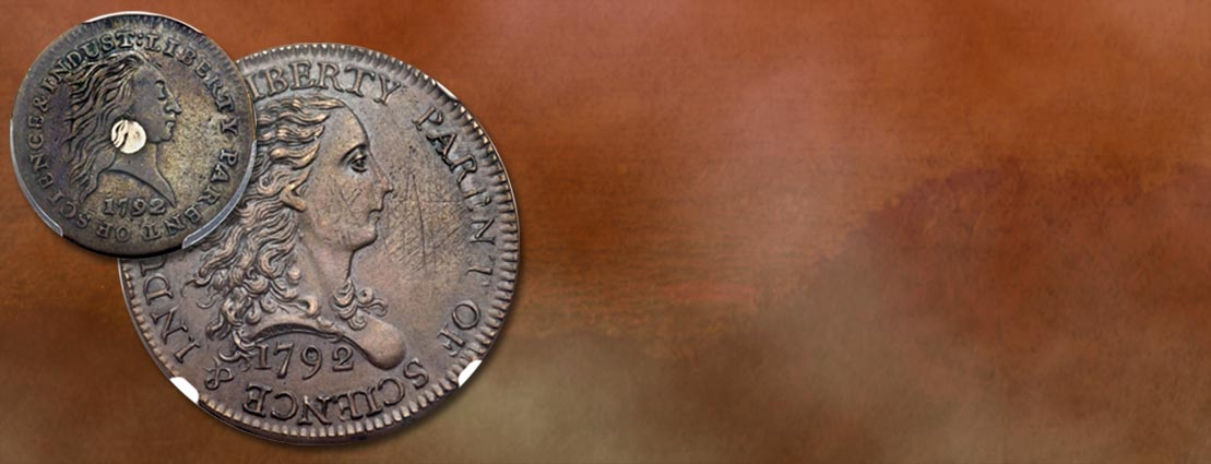 Two 1792 Cents