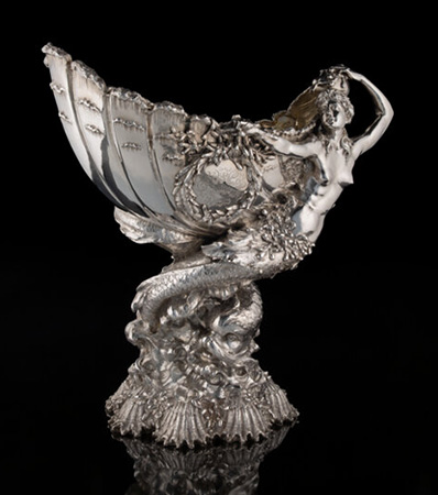 A Tiffany & Co. Silver Yachting Trophy: Goelet Cup, New York, 1893
