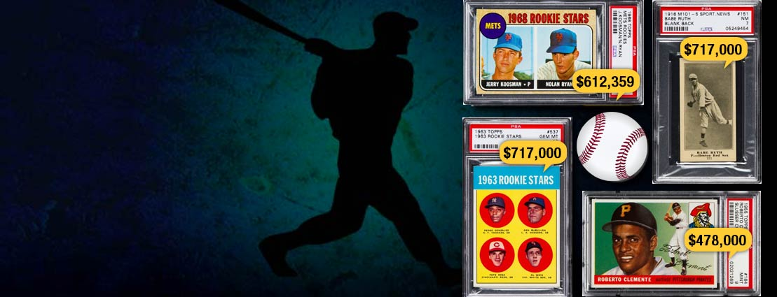 Featured Sports Trading Cards with Record Prices Releazed