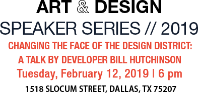 Art & Design Speaker Series//2019
